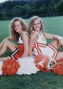 sisters high school cheerleading