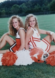 sisters high school cheerleading