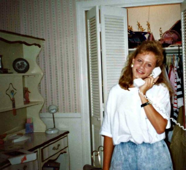 80s teen room phone